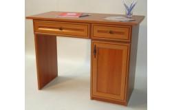 Duplafiókos íróasztal (antikolt)