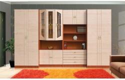 Viktória szekrénysor 320 cm (fiókos)