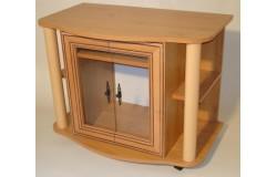 Oszlopos TV állvány (antikolt)
