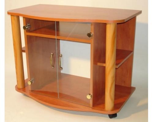 Oszlopos TV állvány (üveges)