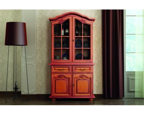 2 ajtós tálaló (antikolt)