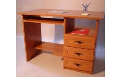 110x60-as számítógépasztal (betétes)