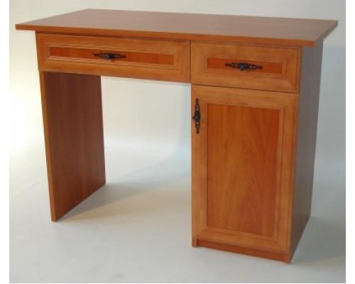 Duplafiókos íróasztal (betétes)