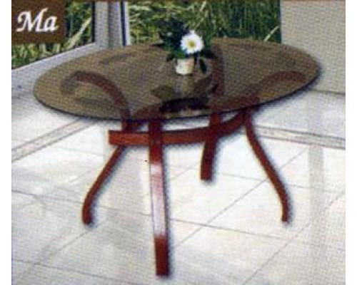 Mania üveglapos dohányzóasztal